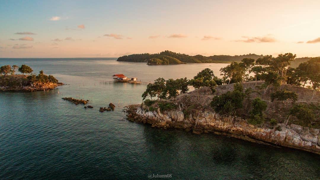 Foto Prewedding di Pulau Petong