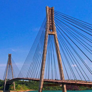 Jembatan Barelang, Jembatan Kabel Pancang Pertama Di Indonesia