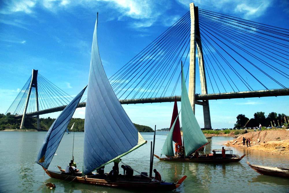 Jembatan Barelang Target Wisatawan Kota Batam
